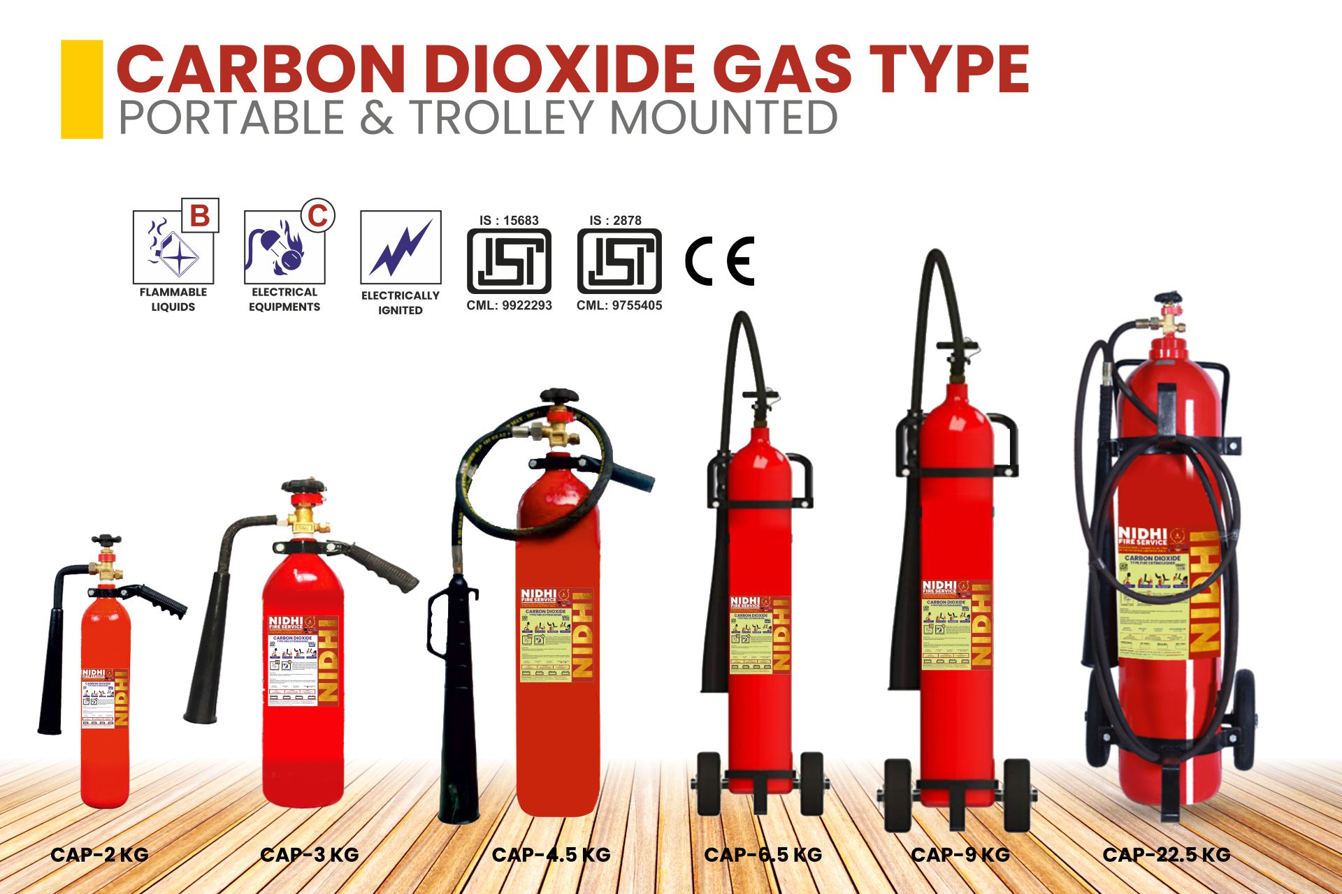 FIRE EXTINGUISHERS Product 2