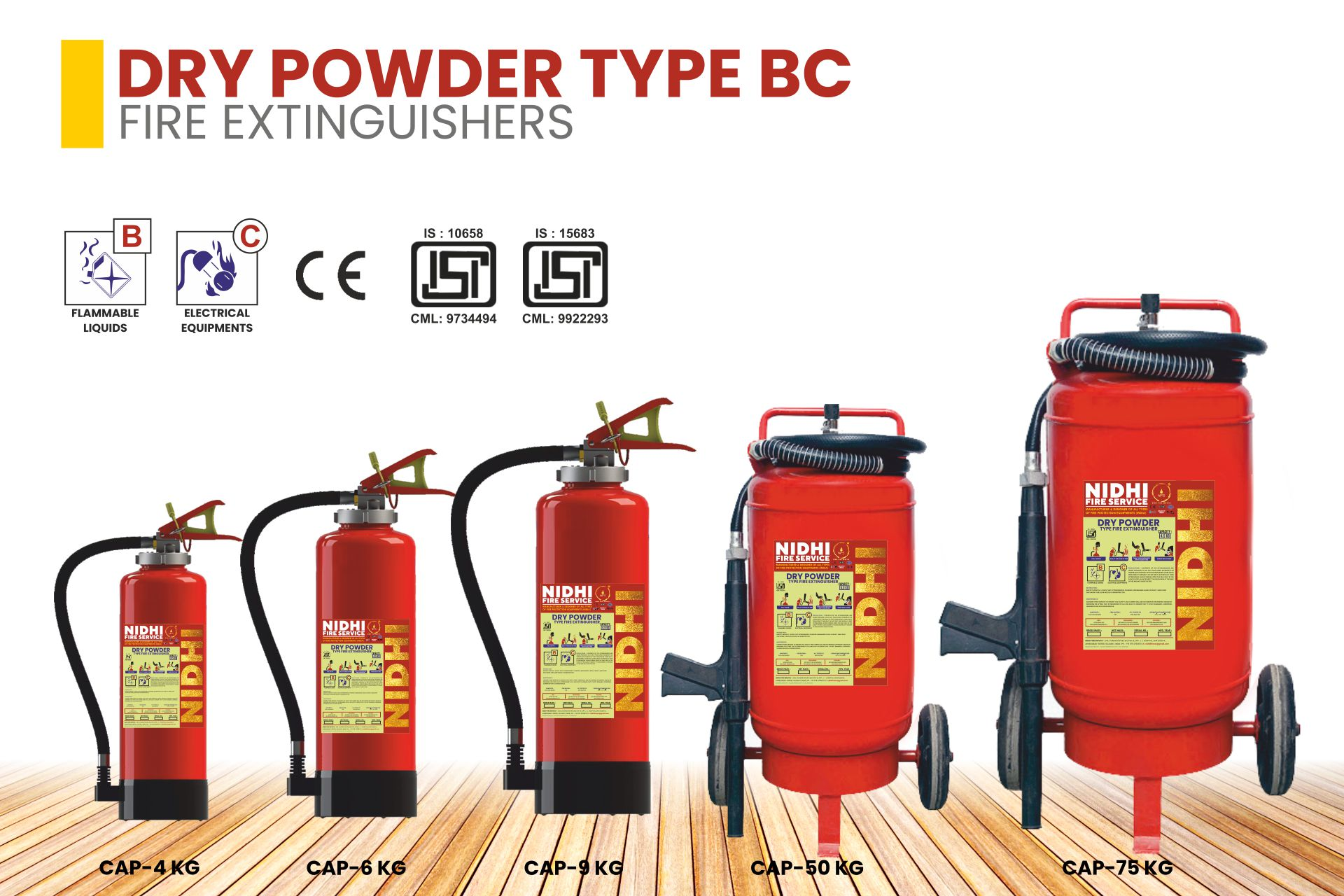 FIRE EXTINGUISHERS Product 3