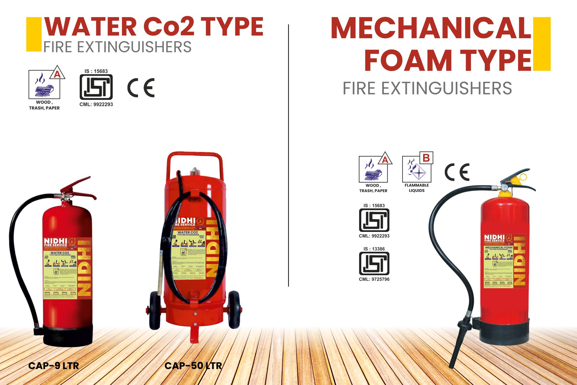 FIRE EXTINGUISHERS Product 4