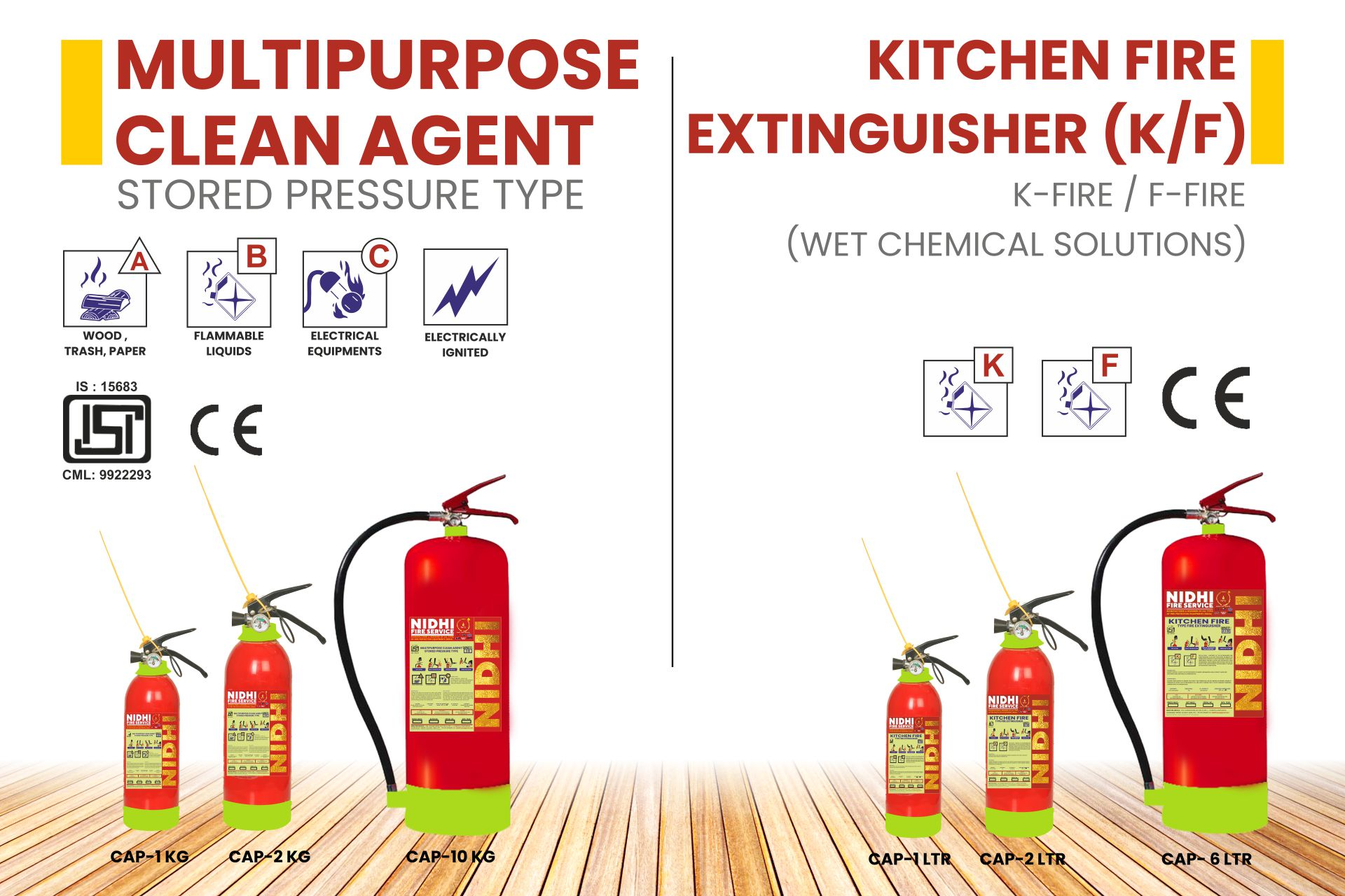 FIRE EXTINGUISHERS Product 5